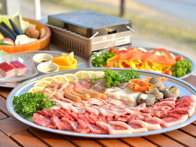 【夏休み限定】1日5組限り夕食はエンジェルロードビューの屋外でバーベキュー