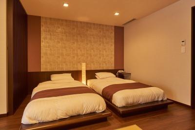 【羊蹄山側】 温泉露天付琉球畳和洋室=禁煙室=2食付プラン