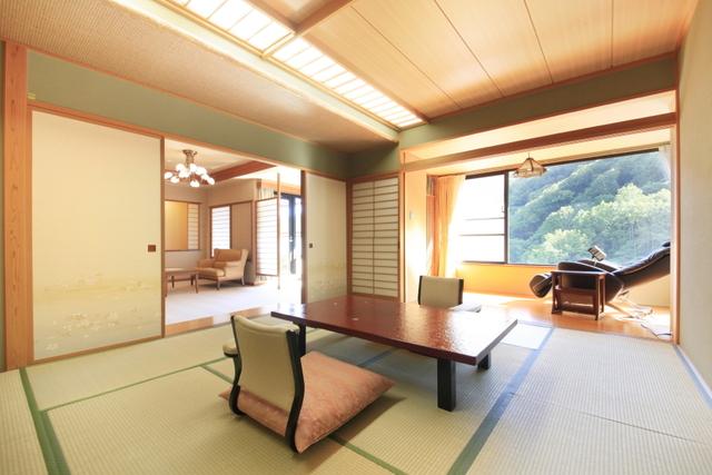 客室露天風呂付き和洋室で優雅な時間~旬の会席~