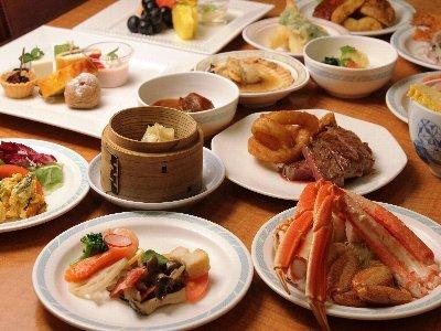 【30日前早割】毛蟹・ズワイ蟹・タラバ蟹 三大蟹食べ放題バイキング