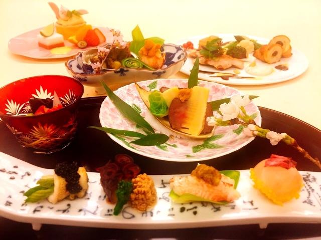 旬の特選会席 季節の食材を使用した旬の味覚で口福のひと時を。