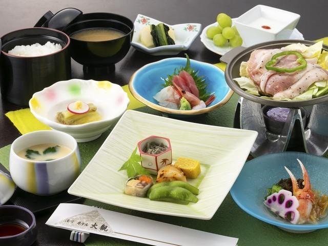 【お手軽ご膳「つなぎ日和」】2019年夏のお料理一例※内容は一部変更となる場合がございます。