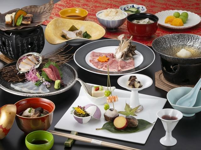 【うらら会席膳】2020年秋のお料理一例 ※内容は一部変更となる場合がございます。