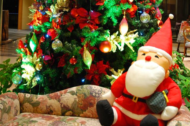 ロビー・クリスマスツリー