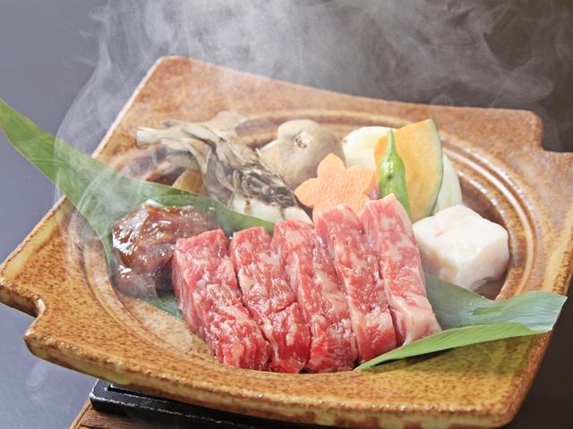 ■【ご夕食】山形牛味噌焼きステーキ ※イメージ