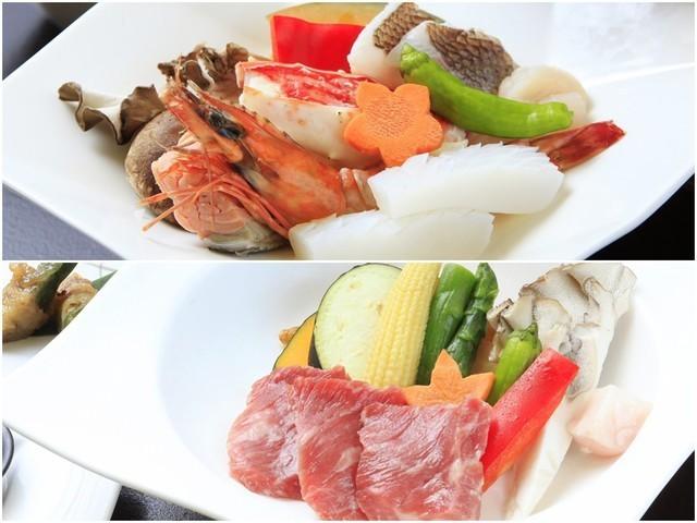 ■【ご夕食】選べる陶板焼き