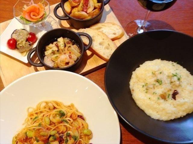 【朝食付】【パスタorリゾット選べる夕食付】エスタチーボで優雅なディナーを♪一泊二食付プラン