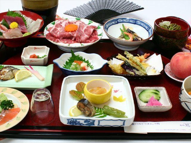 ■豚しゃぶしゃぶ付和食会席
