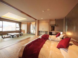 ■特別室/最上階角部屋の和洋室