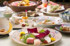 旬の食材を使った料理の数々