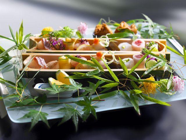【夏の特別会席/山の恵み×海の恵み】国産和牛ヒレ肉と豪華!日本海の幸盛りを堪能