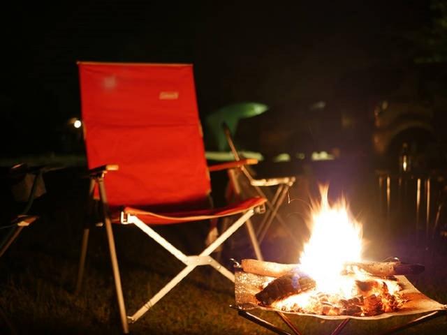 【秋編】<自己投資のひとり旅>秋の夜長は焚き火で過ごす