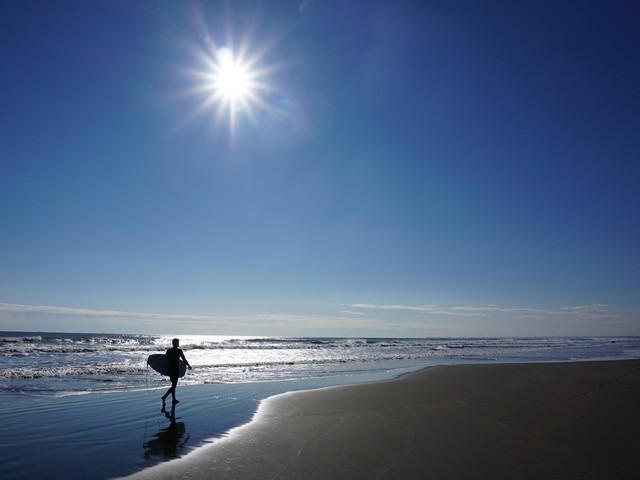 九十九里浜まで徒歩4分