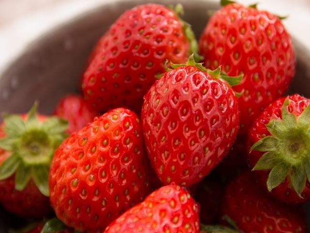 甘くてとっても美味しいイチゴ