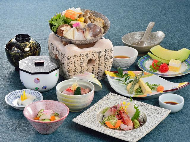 【ご夕食一例】漁火会席