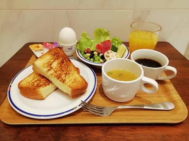 ワンプレート朝食のイメージ