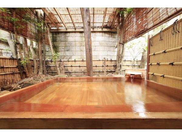 大浴場 露天風呂 檜風呂