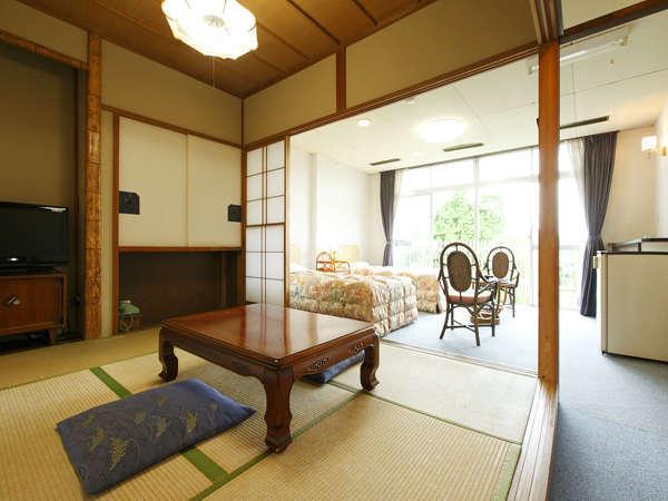 本館 和洋室(6畳+ツイン/バスなし)