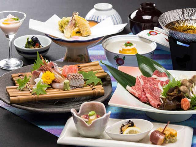 【国産牛しゃぶしゃぶ&地魚料理】お料理一例(イメージ)-