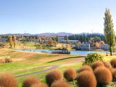【秋の外観】高原の爽やかな風が吹き抜けます