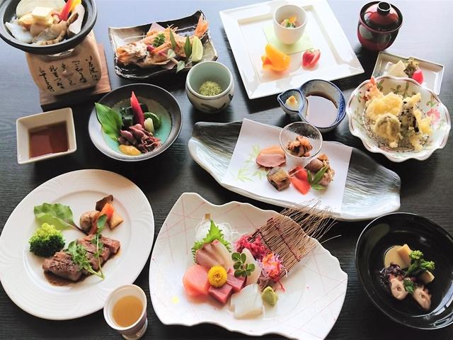 【翠湖ぐるめコース】ご夕食はとことん豪華に!料理長こだわり食材に舌鼓♪贅沢プラン