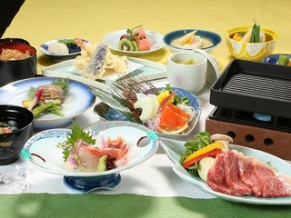 """【夏味覚P】美味探究""""能登牛陶板焼き会席膳!!"""