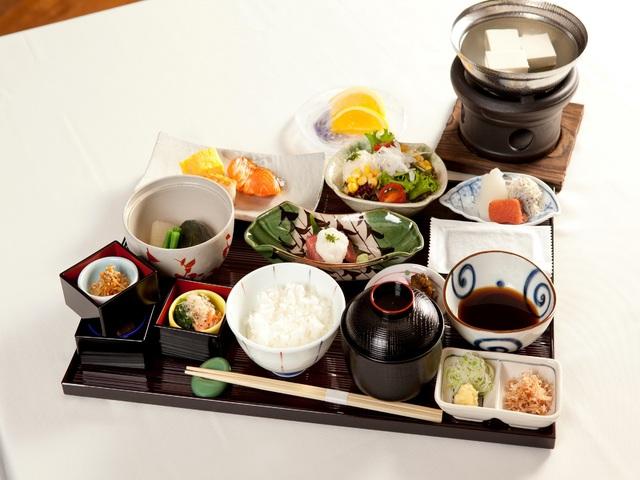【ご朝食】和定食の一例