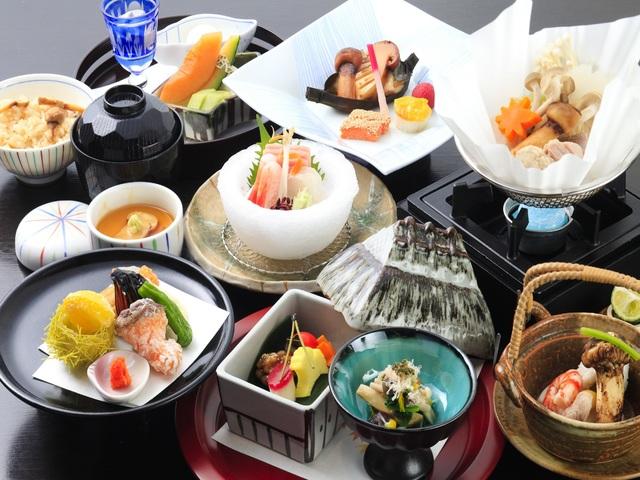 【ご夕食】松茸懐石料理