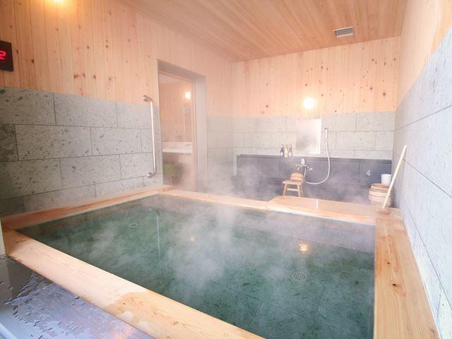 この貸切風呂をご利用いただけるプランです(一ワク分の利用料金が含まれています)