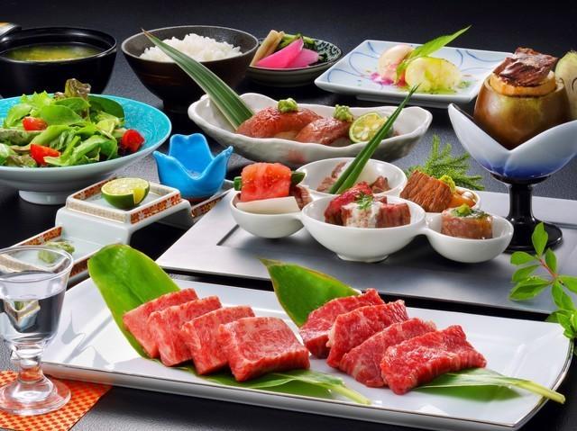 信州牛づくし特別和食会席膳(イメージ)
