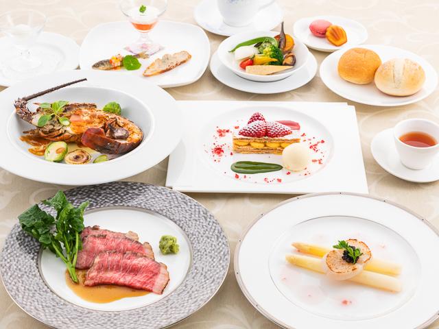 <上高地フレンチ・特選ディナー>~厳選した食材を使用してグレードアップ!