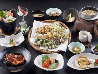 信州野菜の天婦羅コース