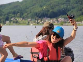木崎湖でワカサギ釣りを楽しもう!