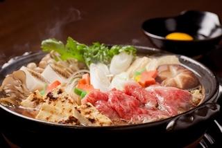 【1日3卓限定】信州牛&信州野菜のすき焼きコース