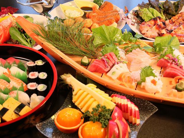 ◆大皿料理・大人4人前のイメージ(内容変更の可能性あり)