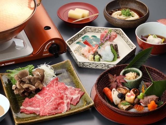 【料理茶屋「北乃寮」】秋の会席料理(一例)