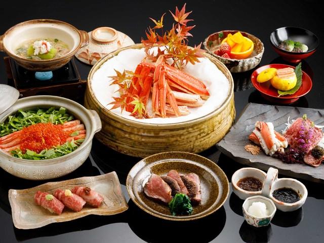 【料理茶屋「北乃寮」】冬限定! 蟹&飛騨牛食べづくし会席。