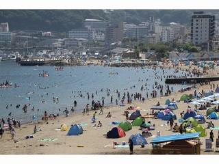 サンビーチは7月14日~海開き★9月2日まで海水浴が楽しめます♪