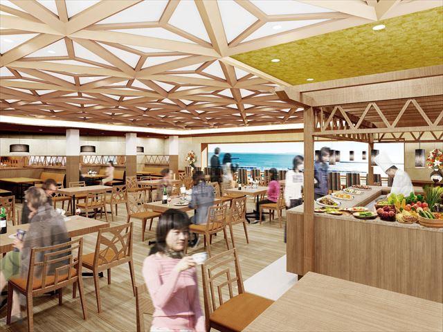 新レストラン(メインダイニング)*画像はイメージとなります