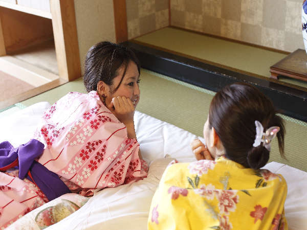 ☆仲良し女子会プラン☆色浴衣など女性に嬉しい3つの特典付!