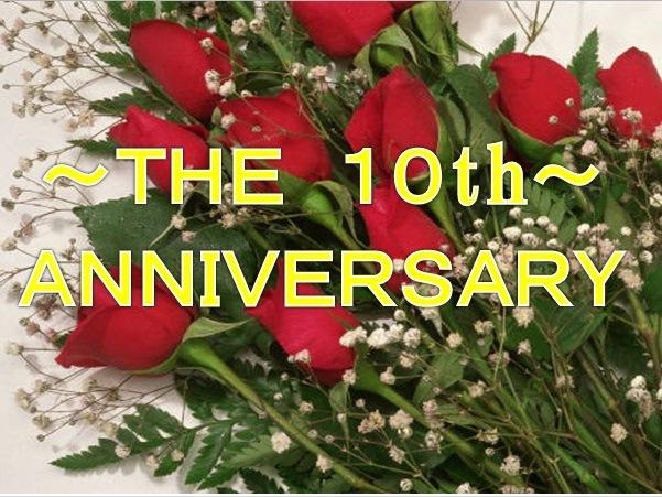 開業10周年記念フェア