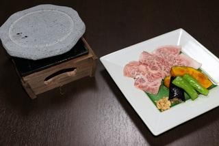 三河牛ステーキです。