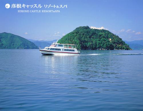 パワースポット竹生島