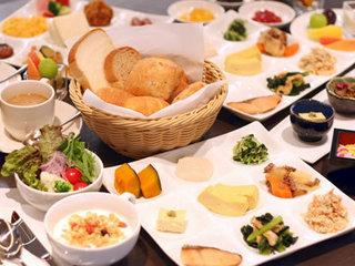【バイキング朝食/Breakfast】
