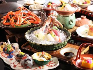 【冬/一押し】タグ付き松葉蟹(焼き・造り)×但馬牛×冬の味覚◆いい…