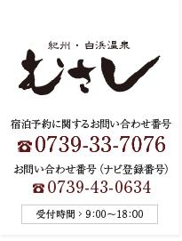 南紀 和歌山県 白浜温泉 旅館 | むさし