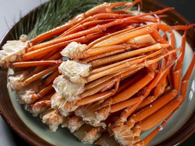 ★冬限定★紀州備長炭で焼くとげずわい蟹※イメージ