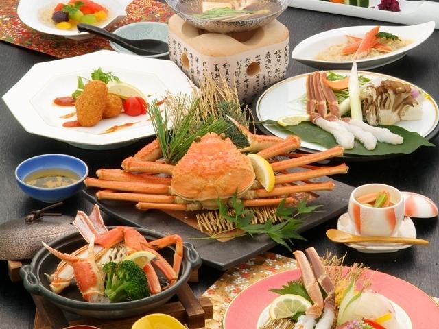 【冬☆イチオシ】冬の味覚を堪能☆蟹づくし会席プラン
