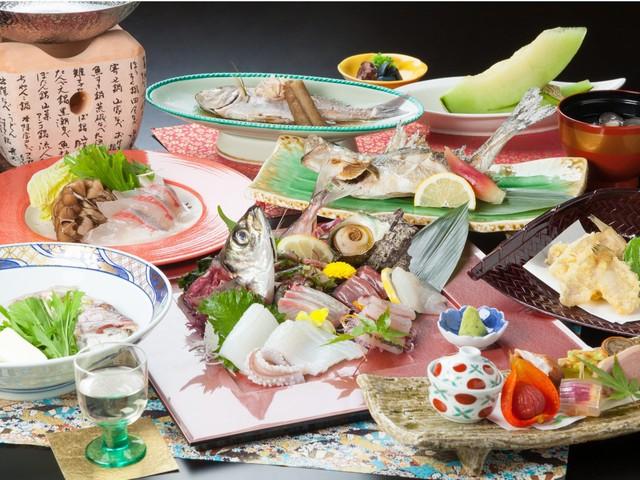 日本海の海の幸を堪能★日本海漁火会席♪プラン
