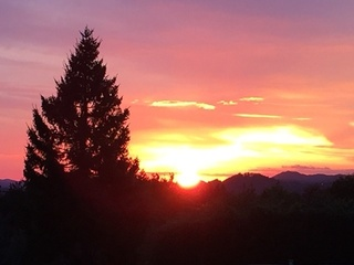 【夕景】標高600mから見る景色は、心に残る絶景です。